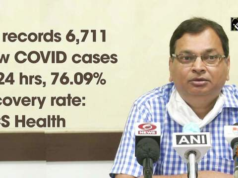 UP records 6,711 new COVID cases in 24 hrs, 76.09% recovery rate: ACS Health