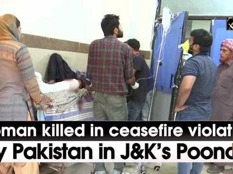 Woman killed in ceasefire violation by Pakistan in JK's Poonch