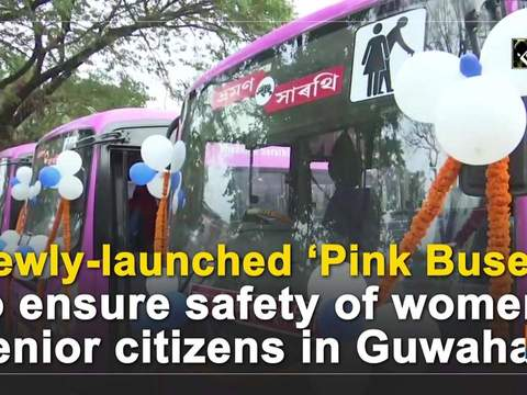 Newly-launched 'Pink Buses' to ensure safety of women, senior citizens in Guwahati
