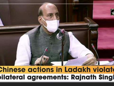 Chinese actions in Ladakh violate bilateral agreements: Rajnath Singh
