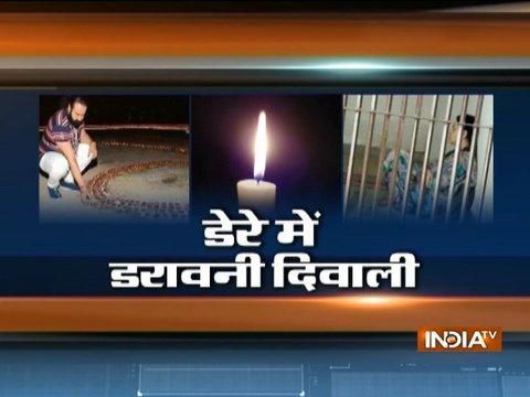 No diwali celebrations at Ram Rahim's Dera, honeypreet spends whole day sobbing in jail