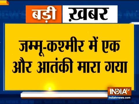 जम्मू-कश्मीर: बिजबेहरा मुठभेड़ में एक आतंकवादी मारा गया