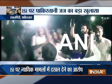 रावलपिंडी में ISI के खिलाफ प्रदर्शन, चुनाव में दखल देने का आरोप