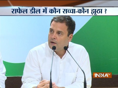 PM Modi must clarify on allegations by former French President Hollande, says Rahul Gandhi