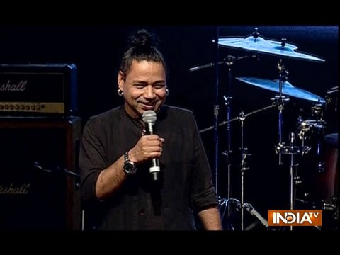 Kailash Kher organised an event on his birthday to promote new talents