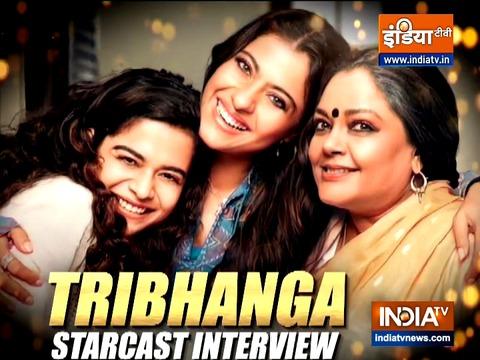Renuka Shahane, Kajol and Tanvi Azami talk about their new film 'Tribhanga'