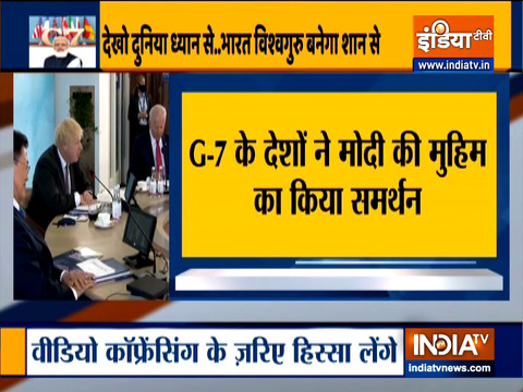 'One Earth, one health,' PM Modi's message to G7 summit