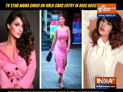 Naina Singh on entering Bigg Boss 14 as wild card entry