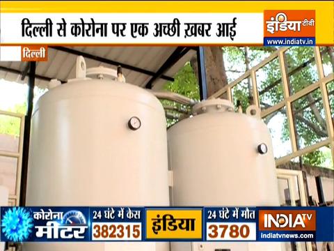 दिल्ली के एम्स और आरएमएल अस्पताल में लगा ऑक्सीजन प्लांट