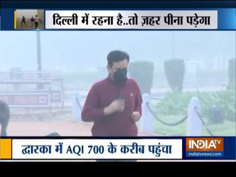 दिल्ली-एनसीआर में प्रदुषण से कोई राहत नहीं, हाईकोर्ट ने दिल्ली सरकार को लगाई फटकार