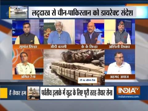 कुरुक्षेत्र: भारतीय सेना का पूर्वी लद्दाख में अभ्यास