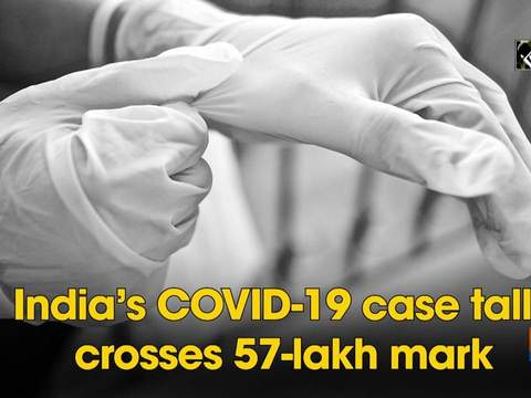 India's COVID-19 case tally crosses 57-lakh mark