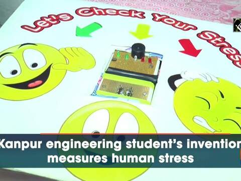 Kanpur engineering student's invention measures human stress