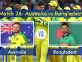 2019 World Cup: David Warner takes Australia closer to semifinals with 48-run win over Bangladesh