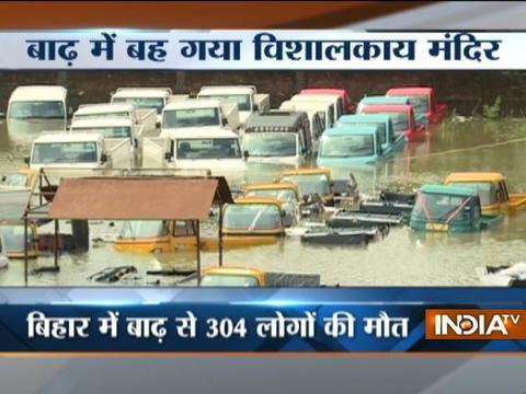 No respite from floods in Bihar, Uttar Pradesh