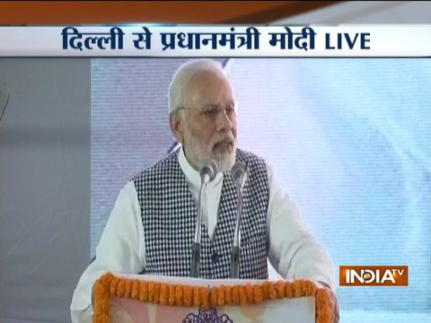 Congress left no stone un-turned to insult Baba Saheb: PM Modi at Dr. Ambedkar Memorial