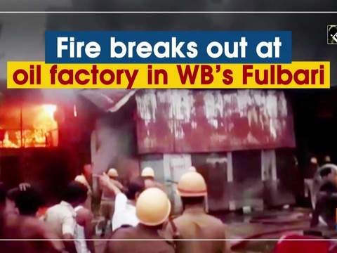 Fire breaks out at oil factory in WB's Fulbari