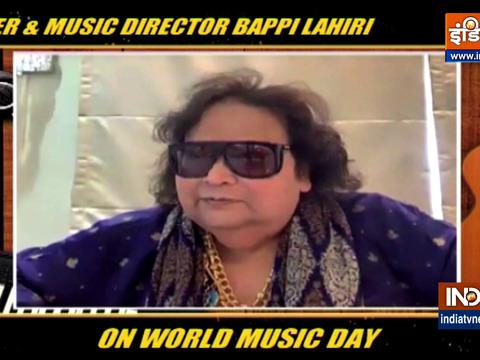 World Music Day: Singer Bappi Lahiri spills beans on his new song 'Hum Ek Hain'