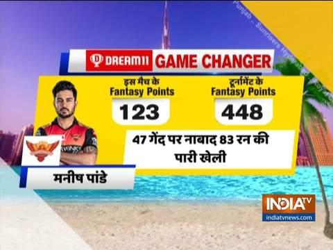 IPL 2020: Manish Pandey, Vijay Shankar give SRH a comfortable win over RR
