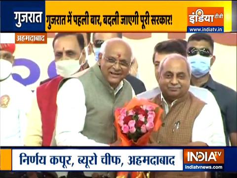 गुजरात: भूपेंद्र पटेल की नई सरकार में लेंगे 27 नए मंत्री शपथ, रूपाणी सरकार के मंत्री पूरी तरह बदले जाएंगे