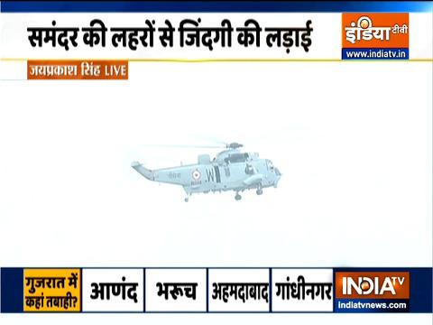 Cyclone Tauktae: समंदर की लहरों से जिंदगी की लड़ाई, देखिए गुजरात से महाराष्ट्र तक ग्राउंड रिपोर्ट