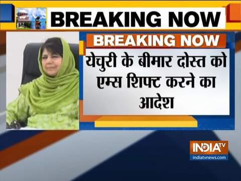 Mehbooba Mufti's daughter gets green signal for Srinagar visit