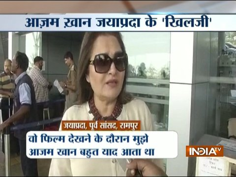 Jaya Prada compare Azam Khan to Alauddin Khilji after watching Padmavat
