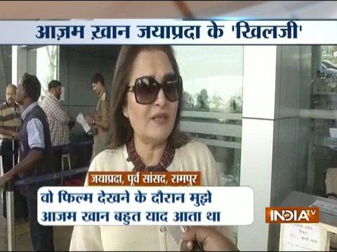 Jaya Prada compare Azam Khan to Alauddin Khilji after watching Padmavat