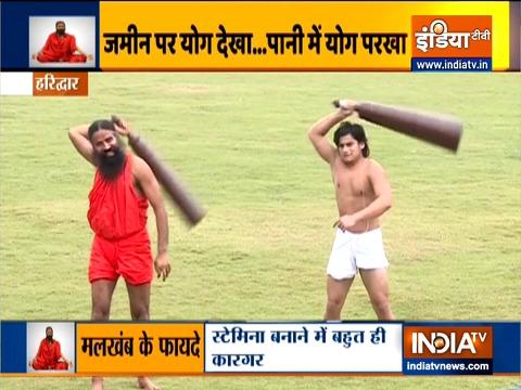 Swami Ramdev shares benefits of surya namaskar