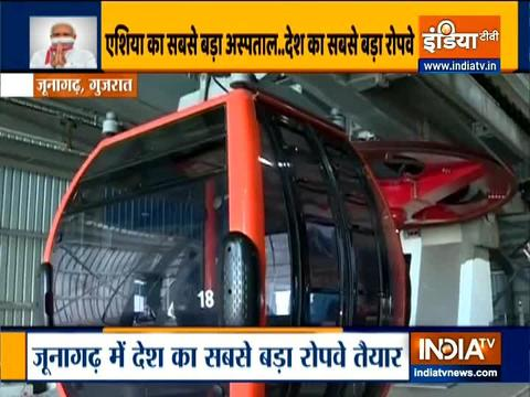 Girnar Ropeway to be inaugurated by PM Modi today