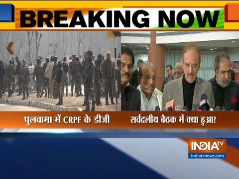 कांग्रेस राष्ट्र की एकता-सुरक्षा और सुरक्षाबालों के लिए सरकार के साथ खड़ी है: गुलाम नबी आजाद