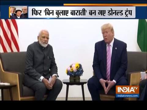 ट्रंप ने फिर अलापा कश्मीर मसले पर मध्यस्थता का राग, बोले G7 में मोदी से करूंगा चर्चा