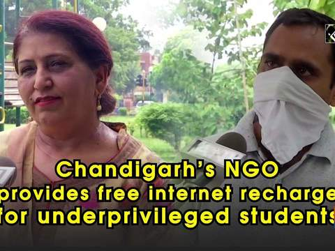 Chandigarh's NGO provides free internet recharge for underprivileged students