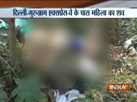 Body of a woman found at Delhi-Gurugram expressway