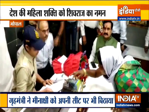 Women's Day: Lady constable Meenakshi honoured with position of honorary Home Minister in MP