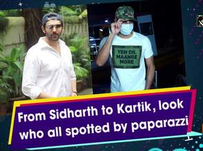 From Sidharth to Kartik, look who all spotted by paparazzi