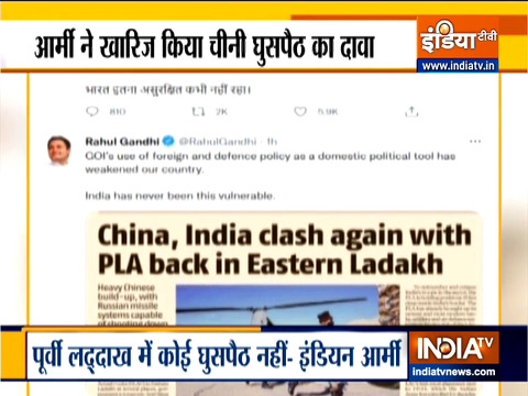 Rahul Gandhi quotes 'fake news' to attack Modi government