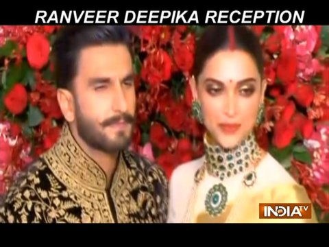 Deepika Padukone-Ranveer Singh look regal at their Bengaluru wedding reception