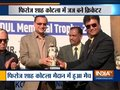 Cricket match between Delhi High Court Judge and Rest of India XI organized at Firoz Shah Kotla