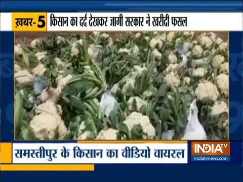 Union Minister Ravi Shankar Prasad rescues distraught cauliflower farmer in Bihar's Samastipur