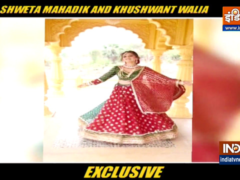 Actors Shweta Mahadik and Khushwant Singh sizzle in a wedding themed photoshoot