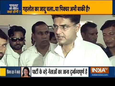 सचिन पायलट आज दिल्ली में प्रेस कॉन्फ्रेंस करेंगे