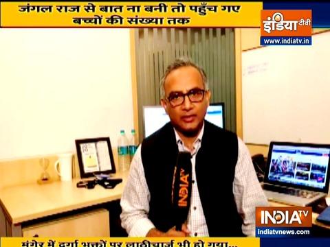 बिहार चुनाव की लड़ाई और तेज़ हुई नीतीश कुमार ने लालू यादव पर व्यक्तिगत टिप्पणी की