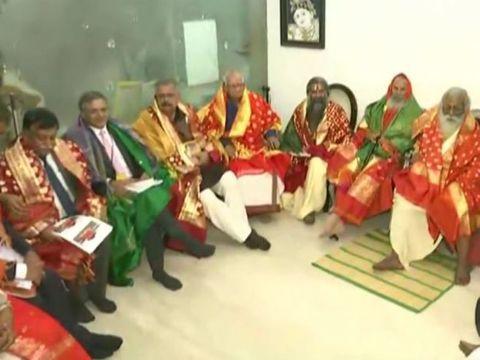 महंत नृत्य गोपालदास को राम मंदिर ट्रस्ट का अध्यक्ष बनाया गया