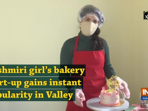 Kashmiri girl's bakery start-up gains instant popularity in Valley