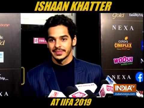 ईशान खट्टर ने IIFA 2019 में किया डेब्यू