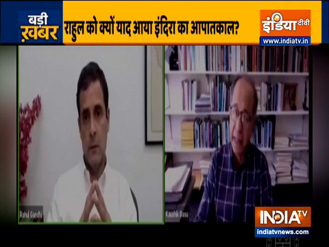 Emergency was a mistake: Congress leader Rahul Gandhi
