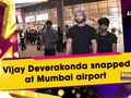 Vijay Deverakonda snapped at Mumbai airport