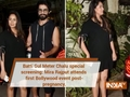 Batti Gul Meter Chalu: Shahid Kapoor and wife Mira Rajput's first movie date after welcoming son Zain