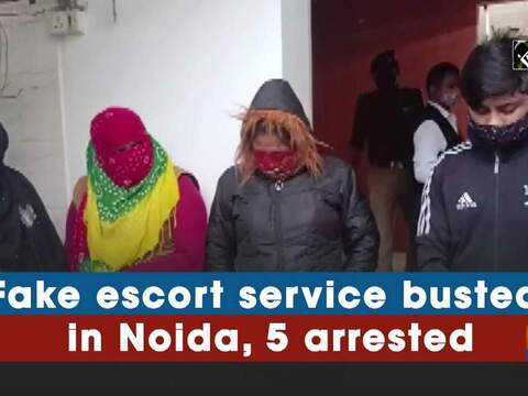 Fake escort service busted in Noida, 5 arrested